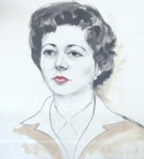 Portrait of Ruth, Paris, 1959