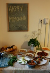 Alizah's Mimouna table