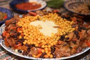 couscous at the Cohen-Fourniers