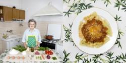 Marisa Batini, 80, Castiglion Fiorentino, Italy Swiss chard and ricotta Ravioli with meat sauce