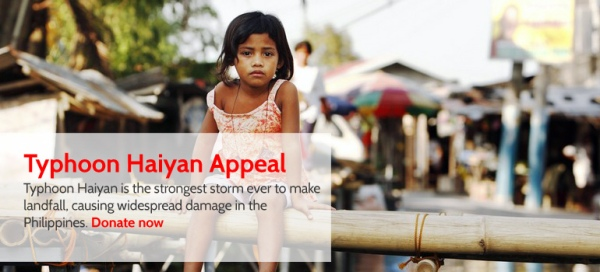 Click image to donate to the Canadian Red Cross Typhoon Haiyan Fund