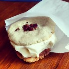 the famous Massafan/rosewater ice cream sandwich. photo by Roots & Recipes