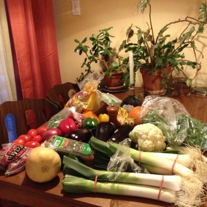 Our bounty from Jean-Talon market