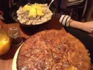 Dessert time! Barley-Orange pudding and Apricot-Walnut-Lavender Cake