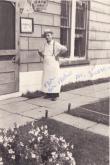 Donato Monaco in front of the bakery