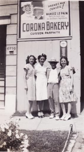 Donato Monaco with his three daughters